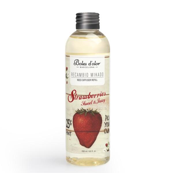 Strawberries - Recambio de Mikado 200 ml.