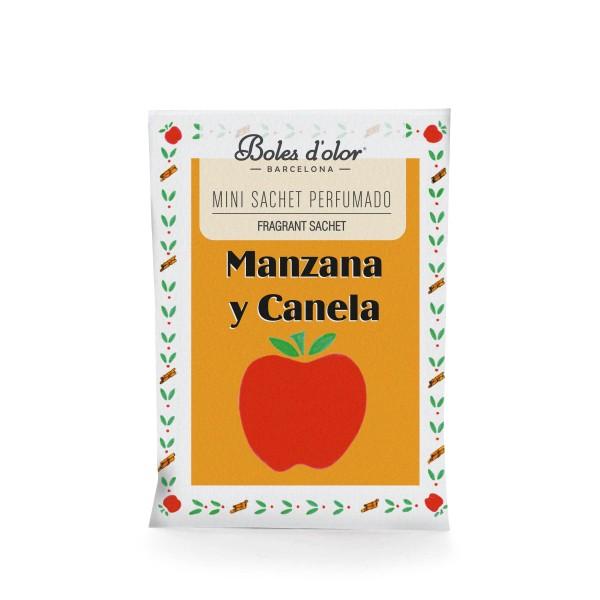 Manzana y Canela - Mini Sachet Perfumado