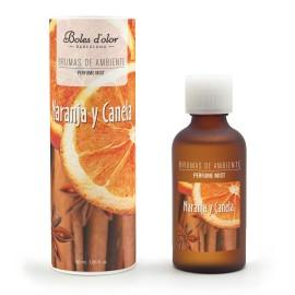 Naranja y Canela - Bruma de Ambiente 50 ml.