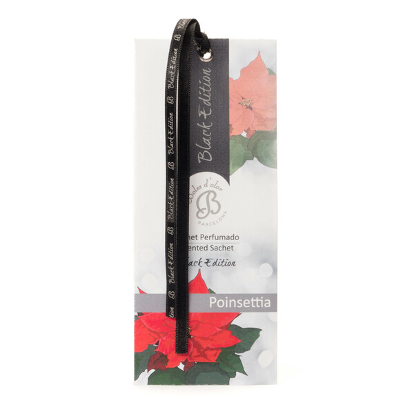 Poinsettia - Sachet Perfumado Black Edition