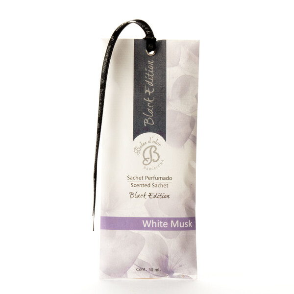 White Musk - Sachet Perfumado Black Edition
